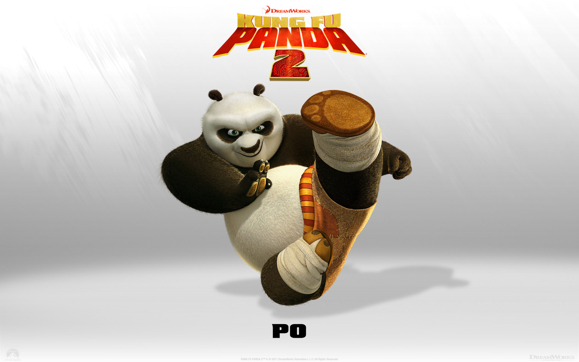 Kung Fu Panda 2 Po wallpaper