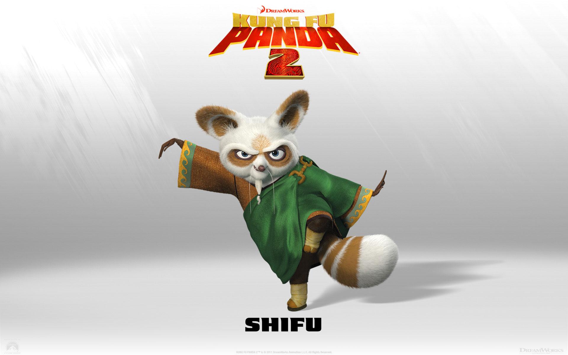 Kung Fu Panda 2 Shifu wallpaper