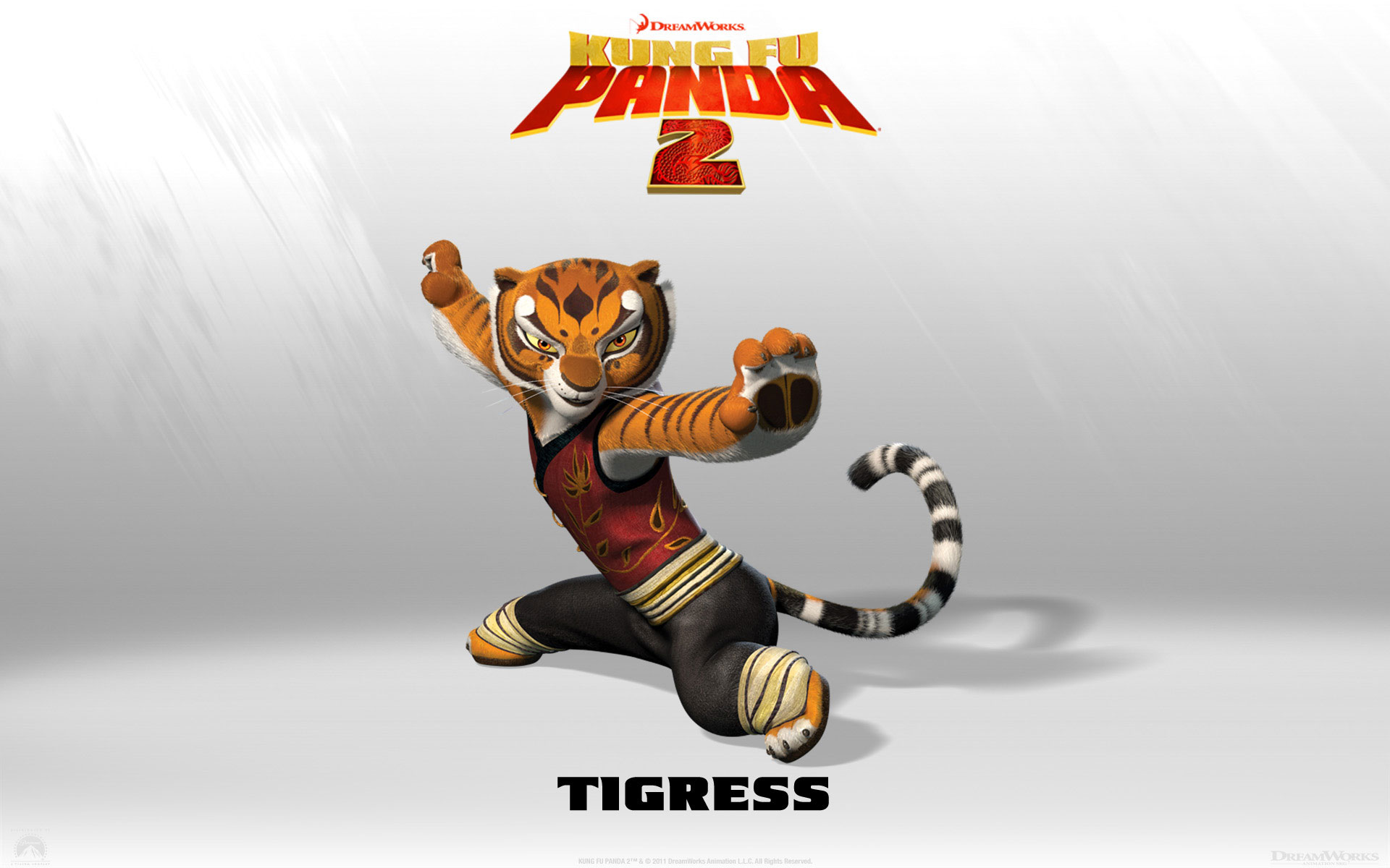 Kung Fu Panda 2 Tigress wallpaper