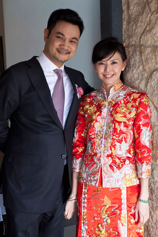 Stefanie Sun and Nadim Van Der Ros wedding photo