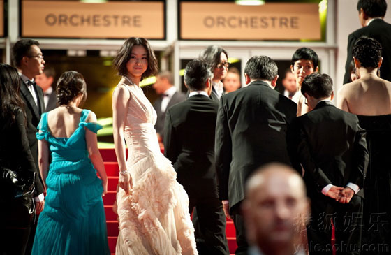Tang Wei at Cannes Film Festival