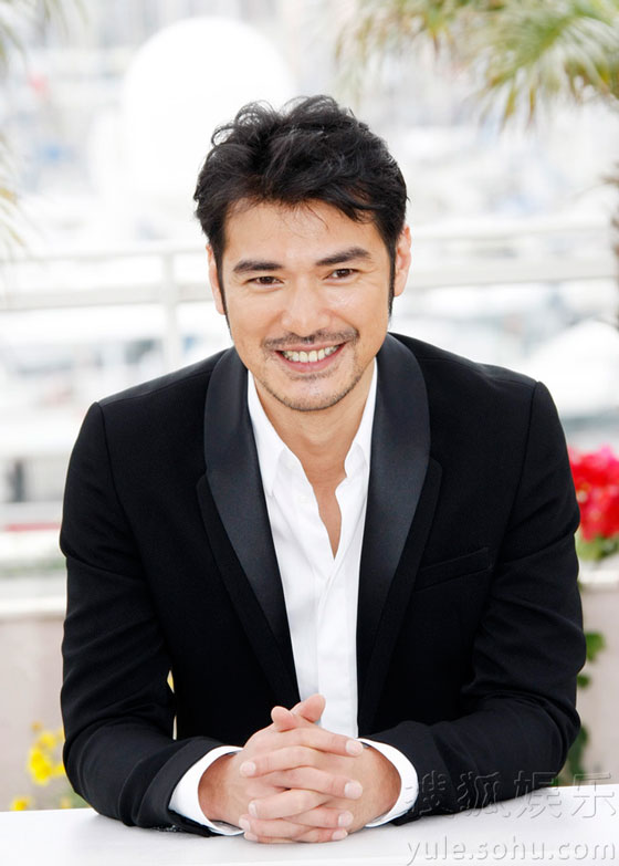 Takeshi Kaneshiro at Cannes Film Festival