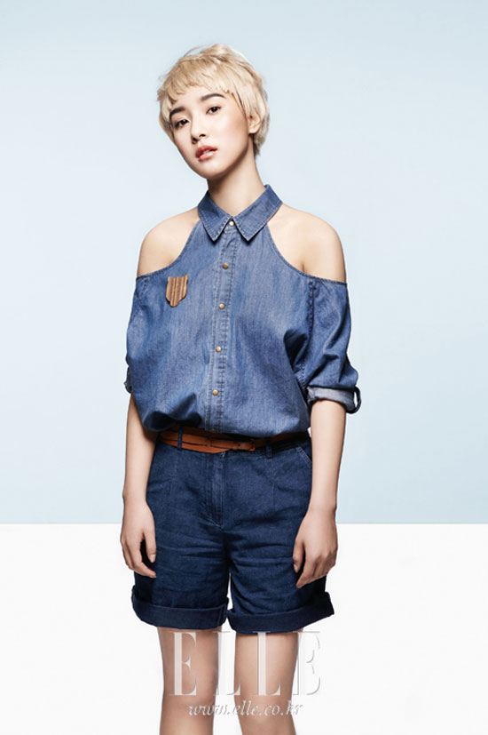 Kim So-eun Elle Girl magazine
