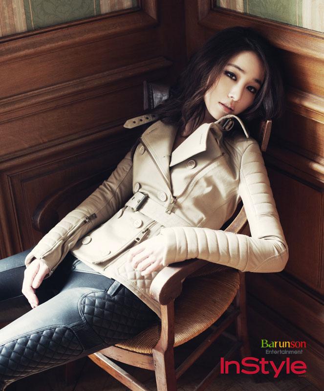 Lee Min Jung InStyle Magazine Paris