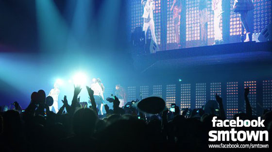 SMTown Live in Paris concert 2011