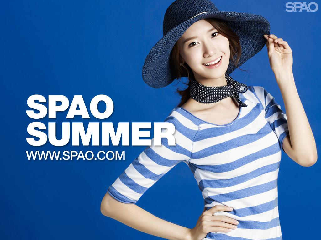 SNSD Yoona SPAO Summer 2011 wallpaper