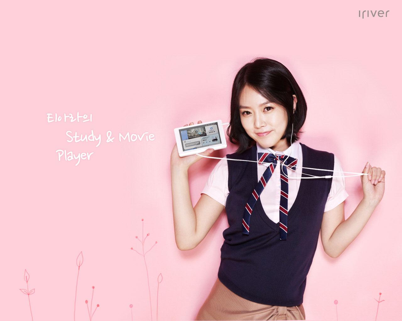 T-ara SoYeon Iriver wallpaper