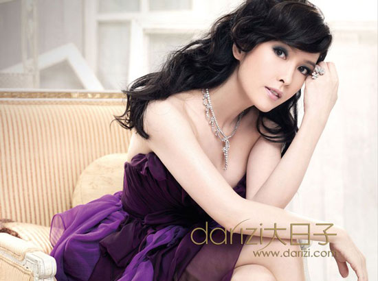 Vivian Chow Darizi June 2011 Korean Girl