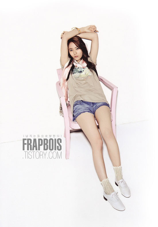 f(x) Krystal Oh Boy magazine