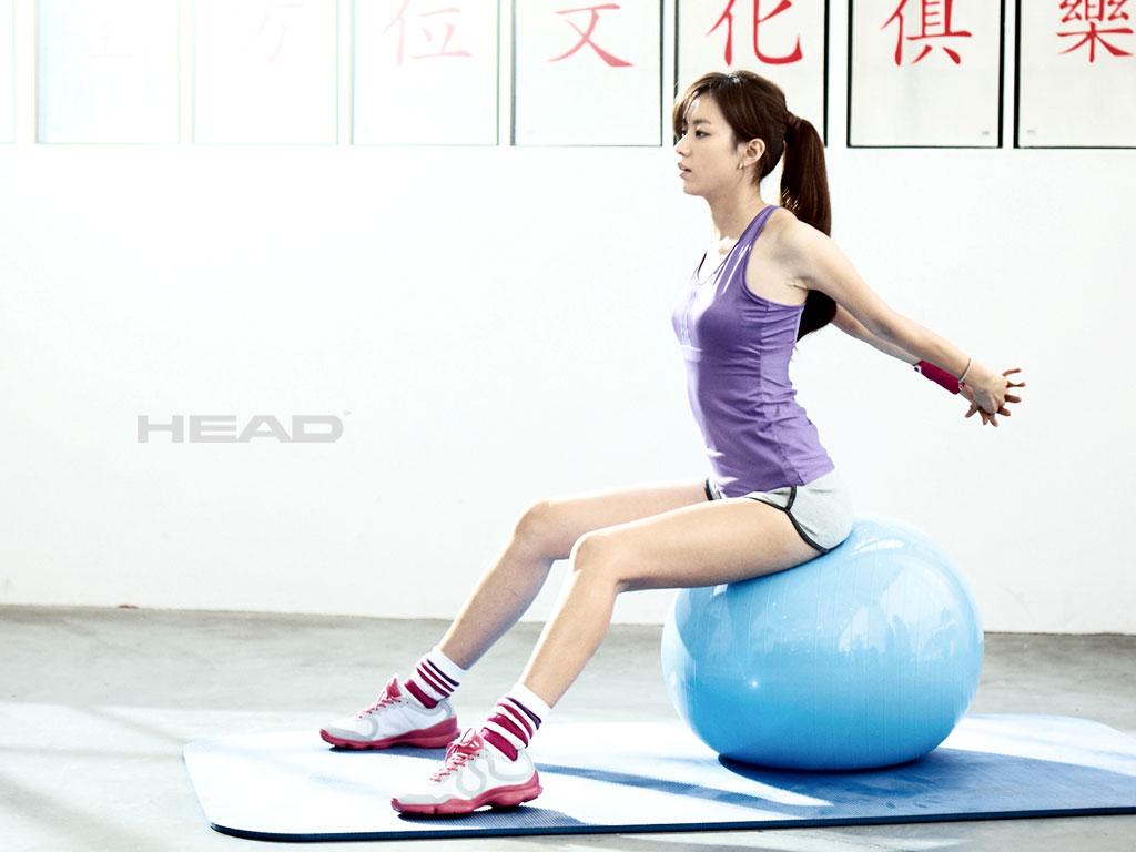 Han Hyo-joo Headsports wallpaper