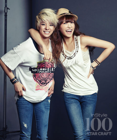 Amber and Victoria Instyle Korea 100 Star Craft