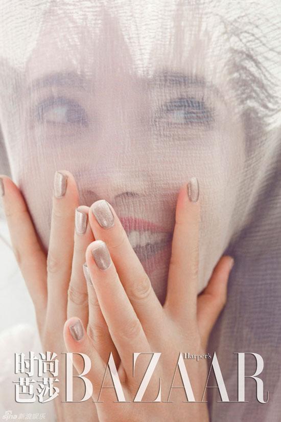 Li Bingbing Harpers Bazaar Magazine