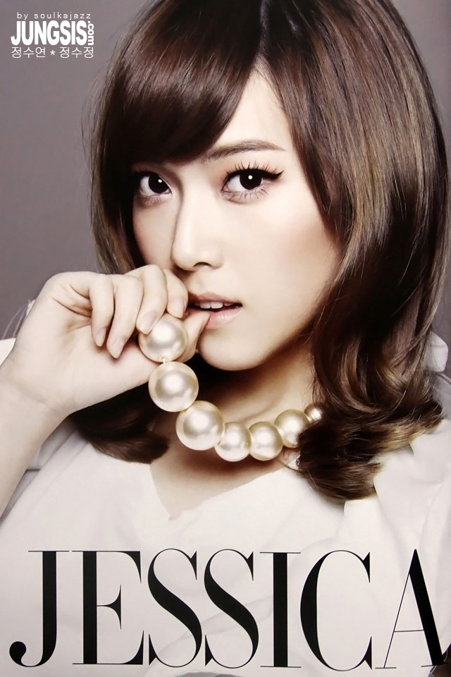 Girls Generation Jessica Japan Tour promo pic