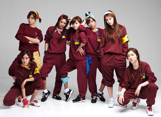 T-ara Korean school girls