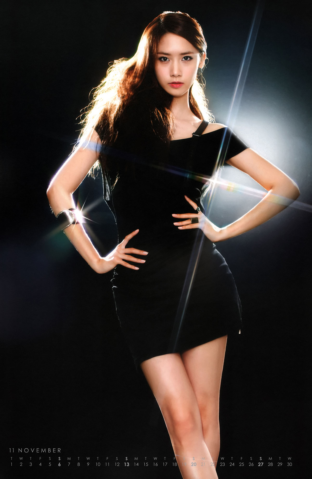 Girls Generation 2011 Tour Yoona calendar