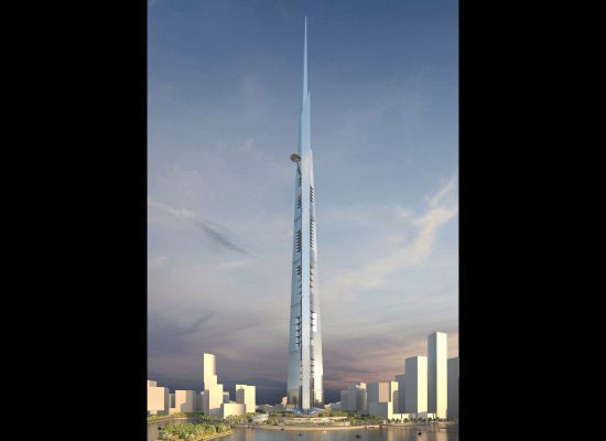 Kingdom Tower, Jeddah, Saudi Arabia