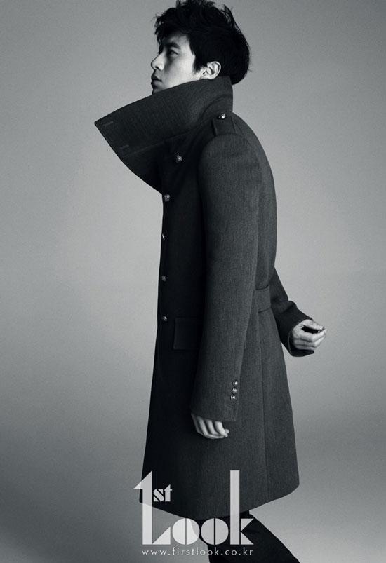 Korean actor Ko Soo First Look Magazine
