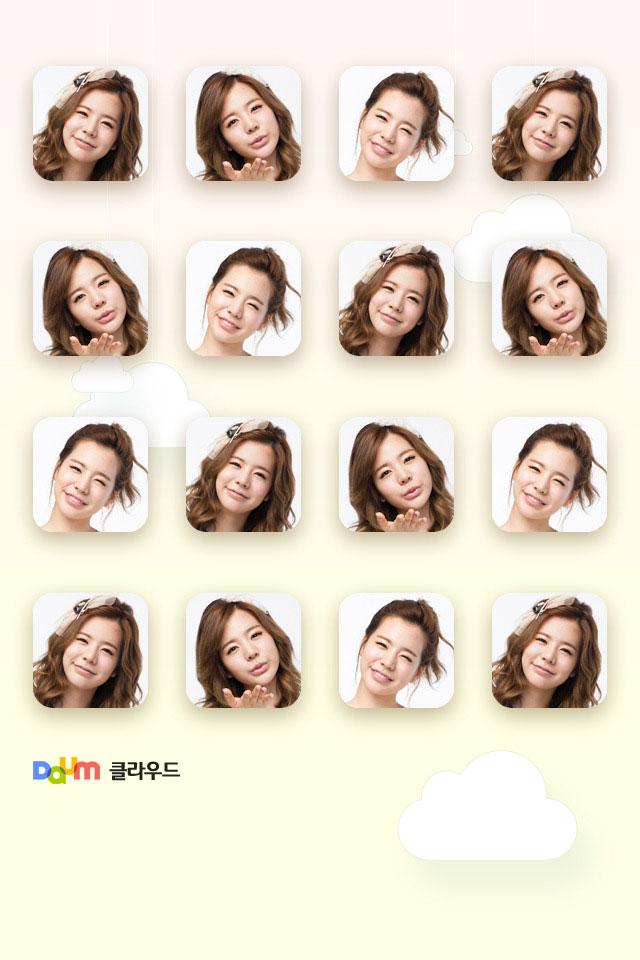 SNSD Sunny Daum smartphone wallpaper