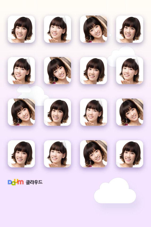 SNSD Taeyeon Daum smartphone wallpaper