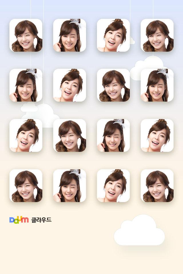 SNSD Tiffany Daum smartphone wallpaper