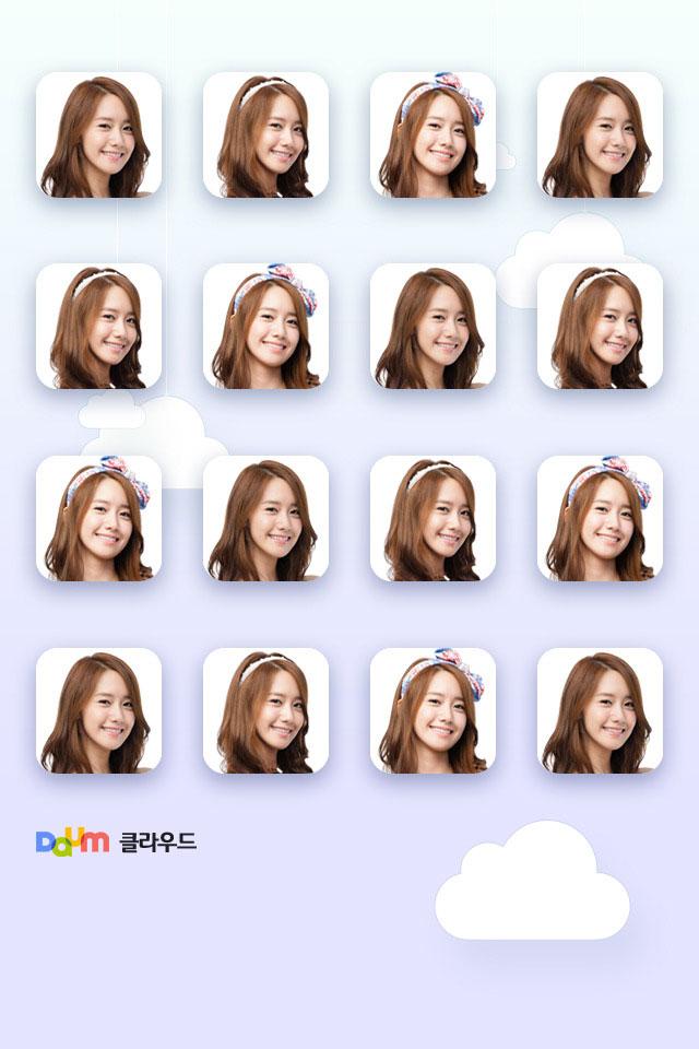 SNSD Yoona Daum smartphone wallpaper