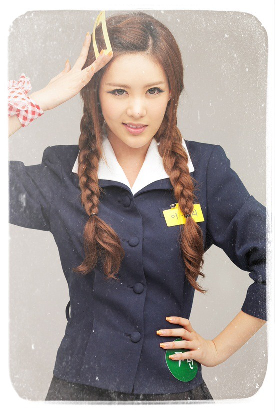 T-ara member Qri picture