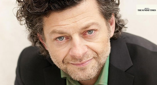 British actor Andy Serkis Sunday Times