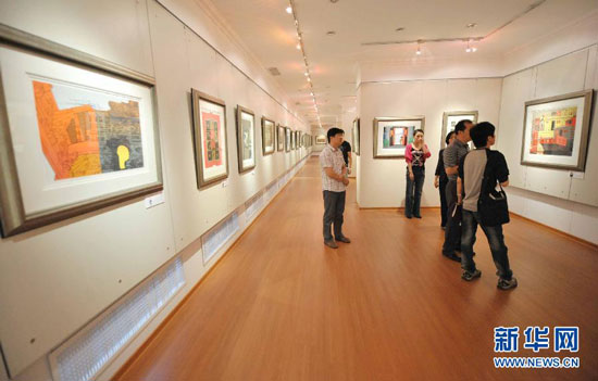 Harbin drug firm art gallery