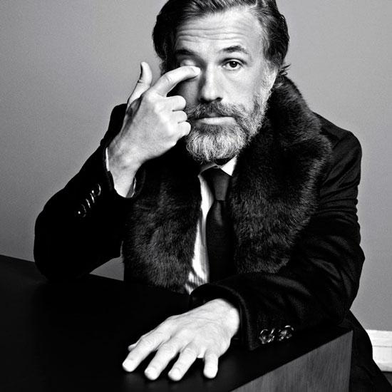 Christoph Waltz Vogue Italia Magazine