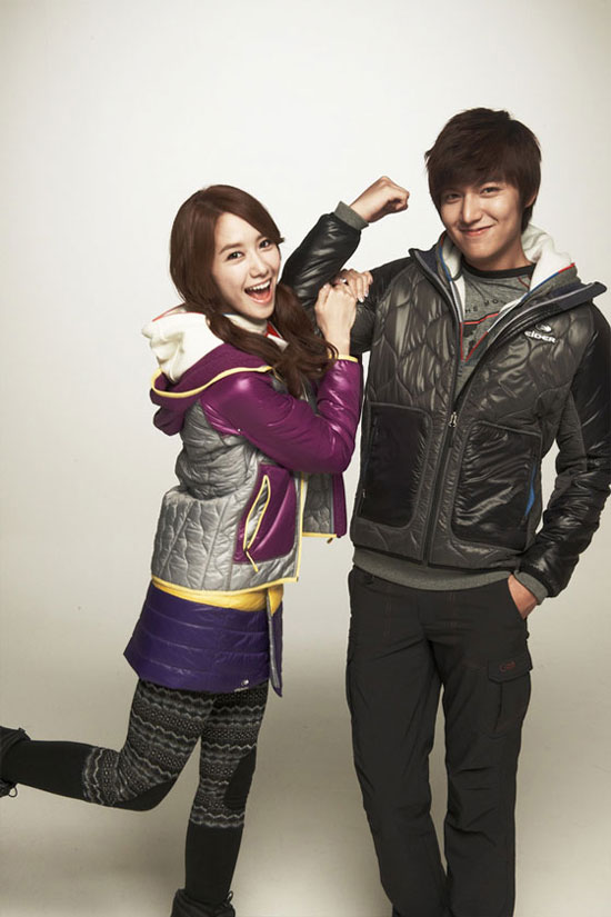 Lee Minho and Im Yoona Eider clothings