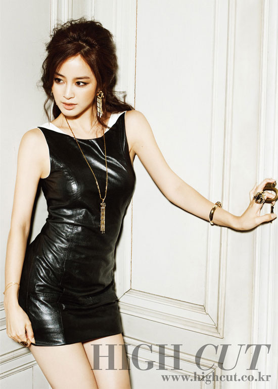 Kim Tae-hee Korean High Cut Magazine