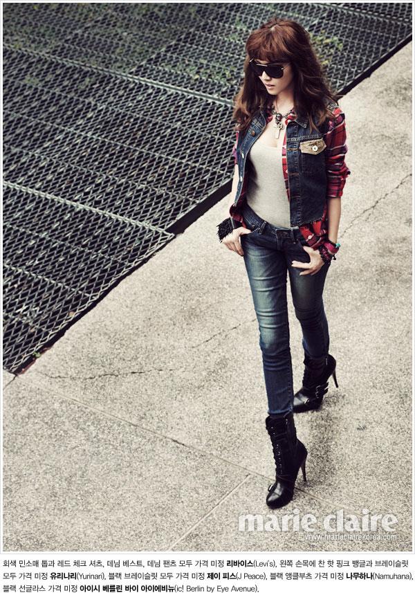 SNSD Jessica Marie Claire Levis Bangkok