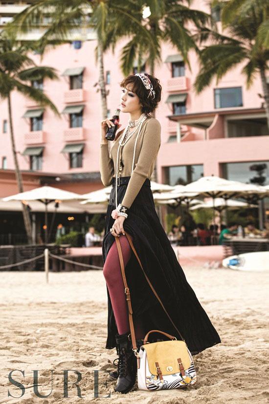 Sung Yuri Sure Magazine Hawaii picture