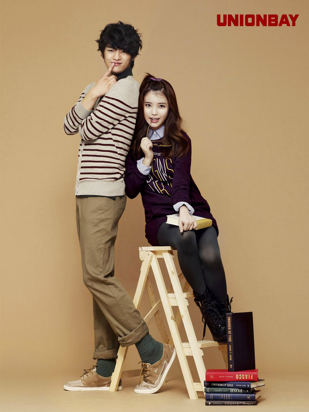 IU Seo Inguk Korean Unionbay clothing