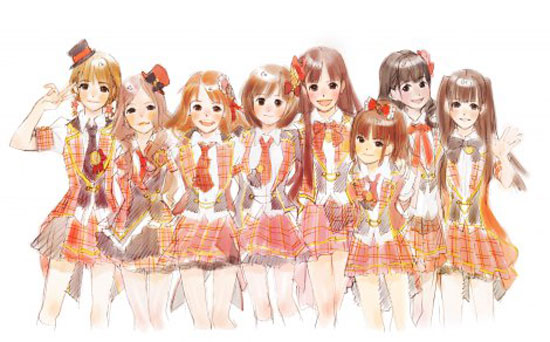 AKB48 Japanese anime