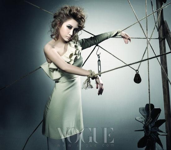 Brown Eyed Girls Jea Vogue Magazine