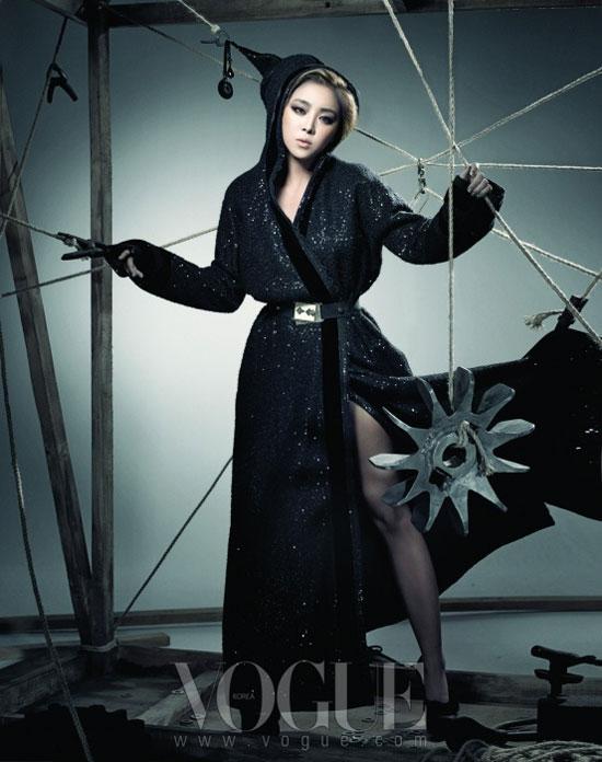 Brown Eyed Girls Narsha Vogue Magazine
