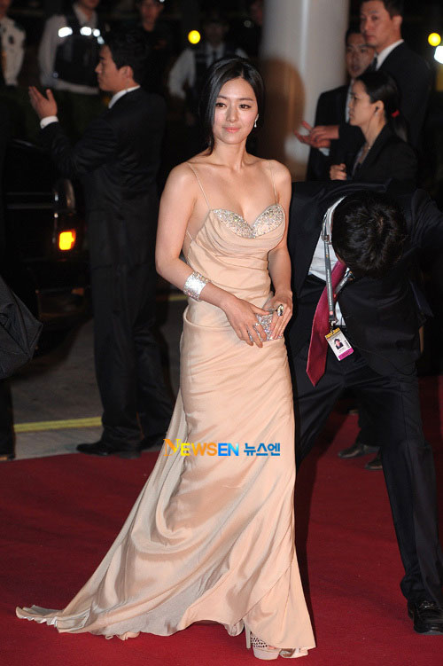 Hong Soo-ah at Busan Film Festival 2011