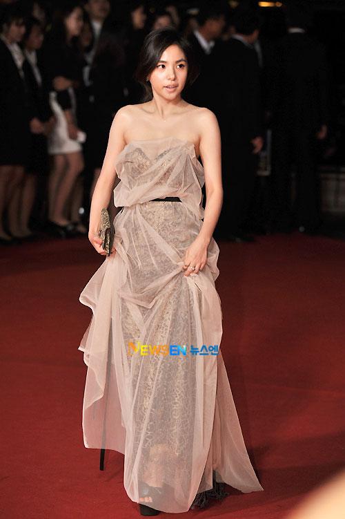 Min Hyo-rin at Busan Film Festival 2011