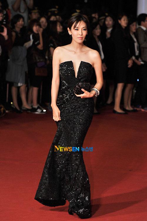 Kim So-yeon at Busan Film Festival 2011