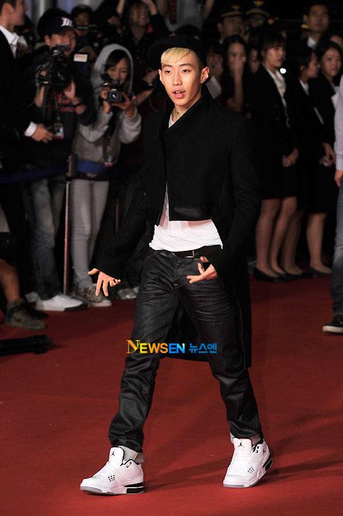 Park Jae-beom at Busan Film Festival 2011