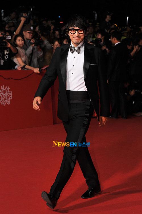 Kim Min-joon at Busan Film Festival 2011