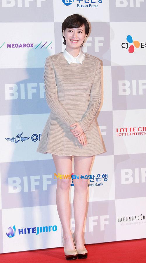 Koo Hye-sun at Busan Film Festival 2011