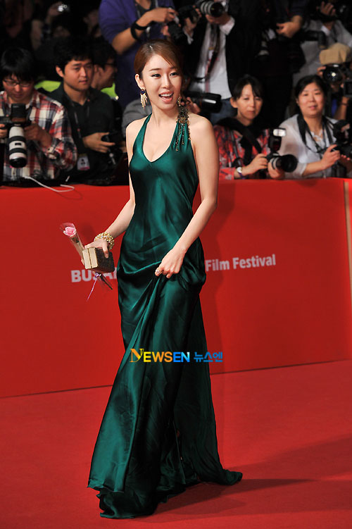 Yoo In-na at Busan Film Festival 2011