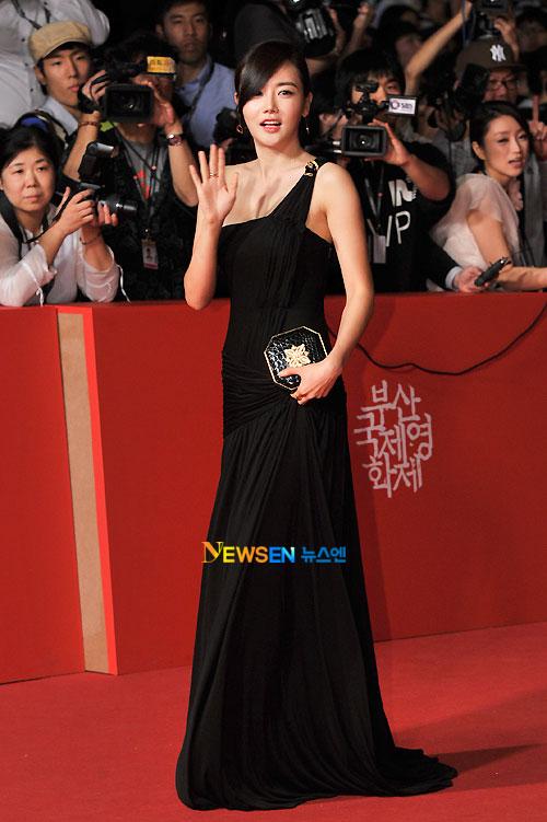 Hwang Woo Seul-hye at Busan Film Festival 2011