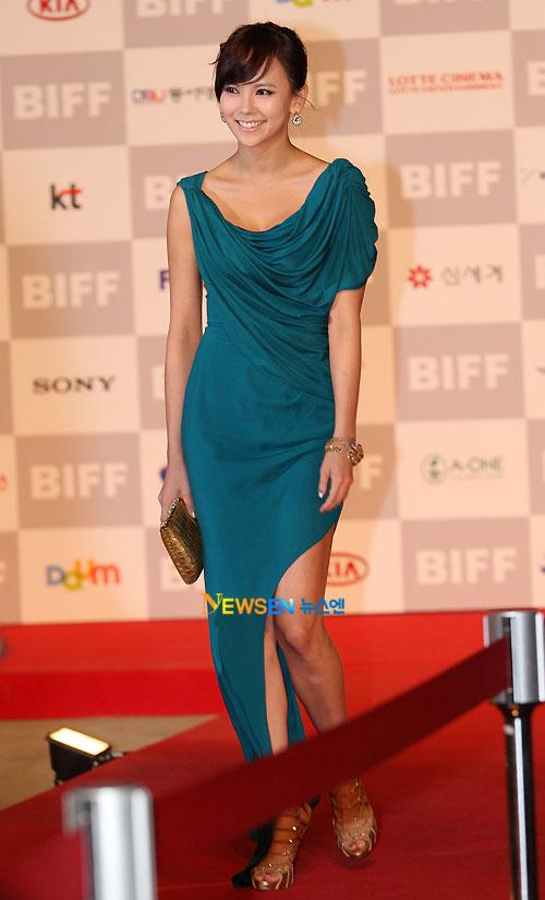 Kim Ji-woo at Busan Film Festival 2011