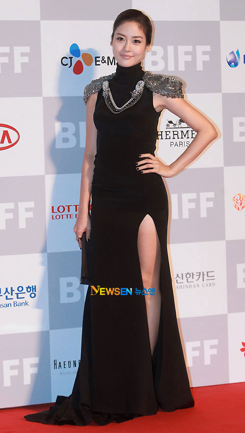 Sung Yuri at Busan Film Festival 2011