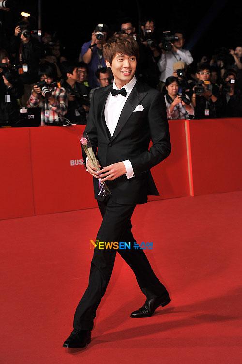 Choi Daniel at Busan Film Festival 2011