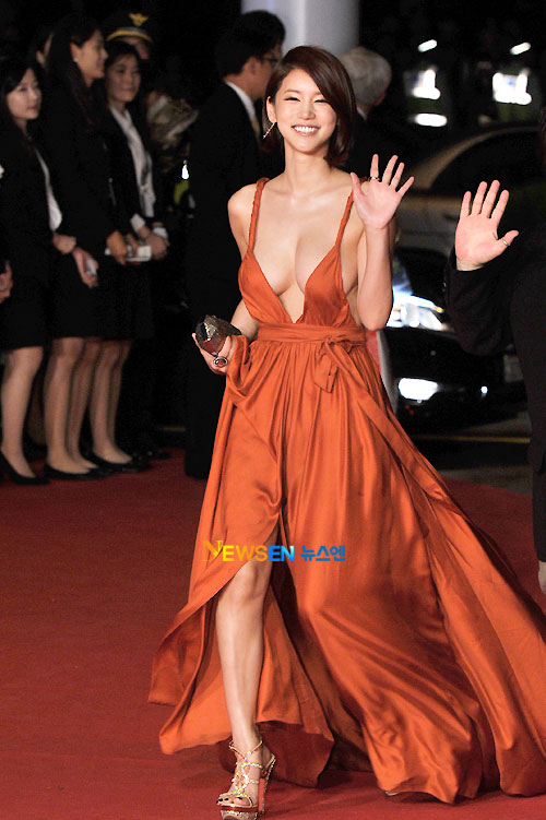 Oh In-hye at Busan Film Festival 2011