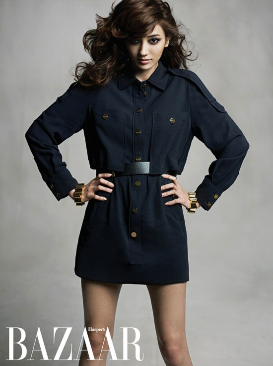 Han Chae-young Harpers Bazaar Korea